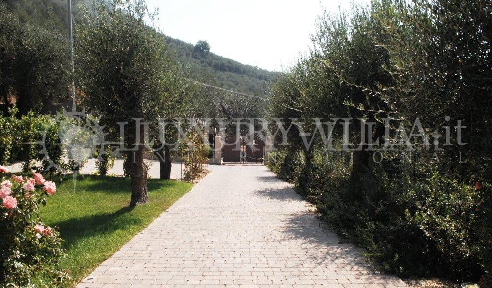 Villa con bellissimo parco ed ulivi, piscins, vicino al centro della citta,Imperia,Liguria,Italy (1)