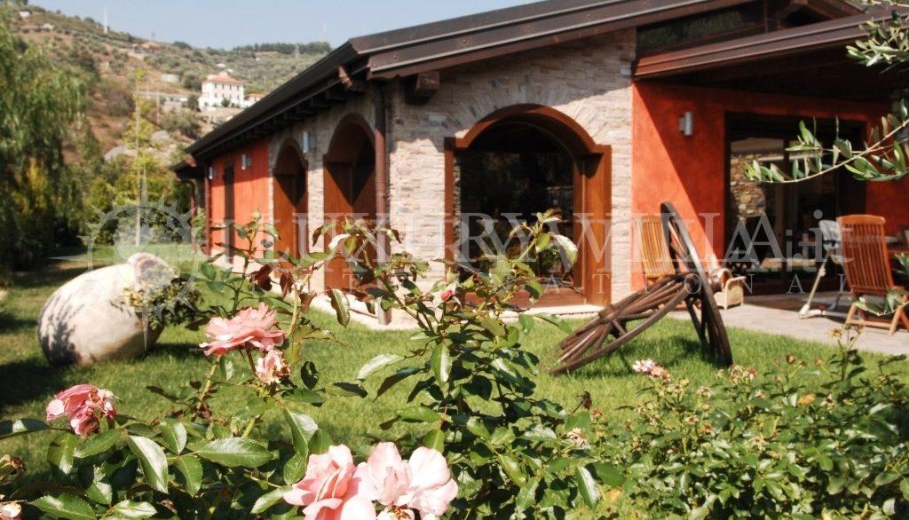Villa con bellissimo parco ed ulivi, piscins, vicino al centro della citta,Imperia,Liguria,Italy (3)